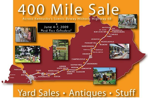 Go To The 400 Mile Yard Sale Yard Sale Longest Yard Sale Gift