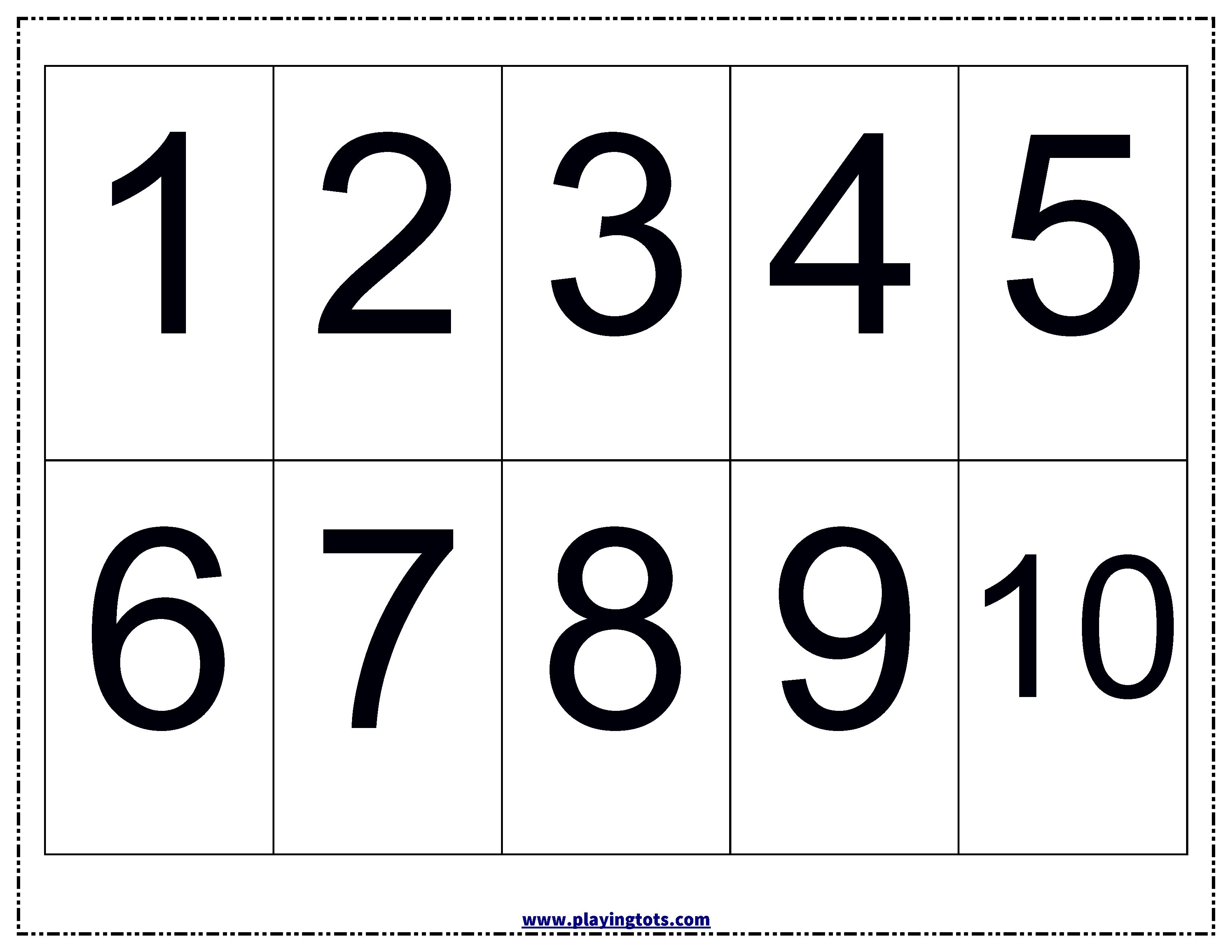 Numbers Chart KeywordsFree PrintablePdfFreePrintableLearn