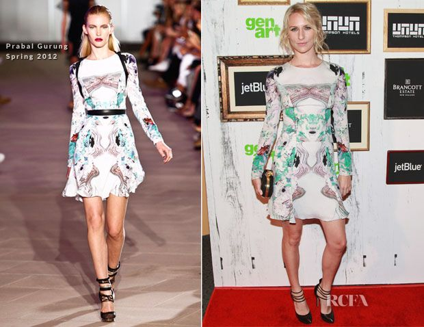 Mickey Sumner In Prabal Gurung - 2012 GenArt Film Festival Opening Night 'Missed Connections' Screening