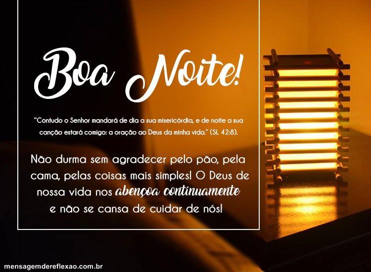 Mensagens De Boa Noite Abençoado: Boa Noite Abençoado!