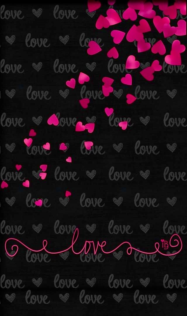 Cell phone wallpaper background cell hearts love - Pretty backgrounds for phones ...