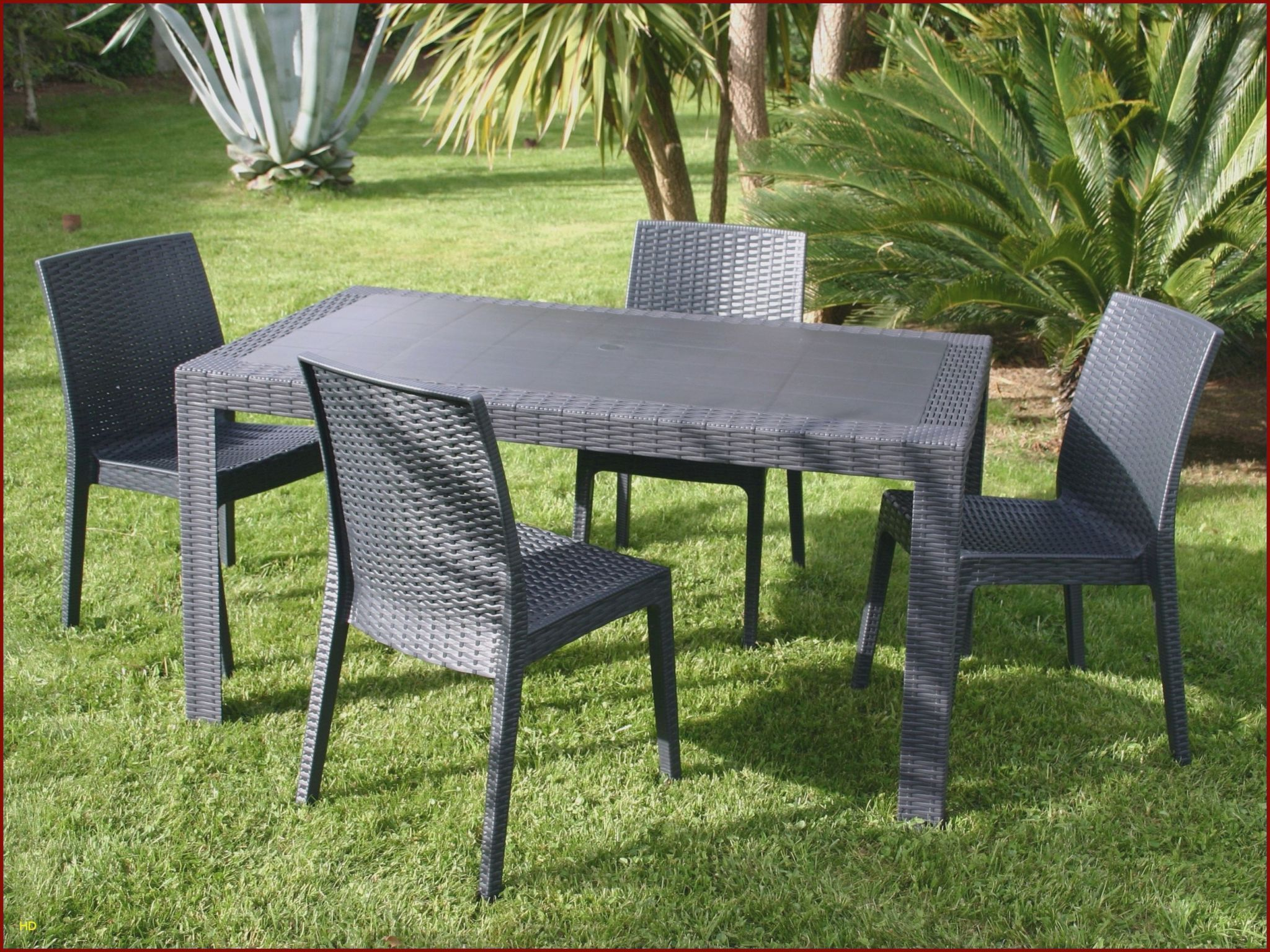 Chaises Luxe Chaise Ice 0d Table Jardin Resine Lovely ...