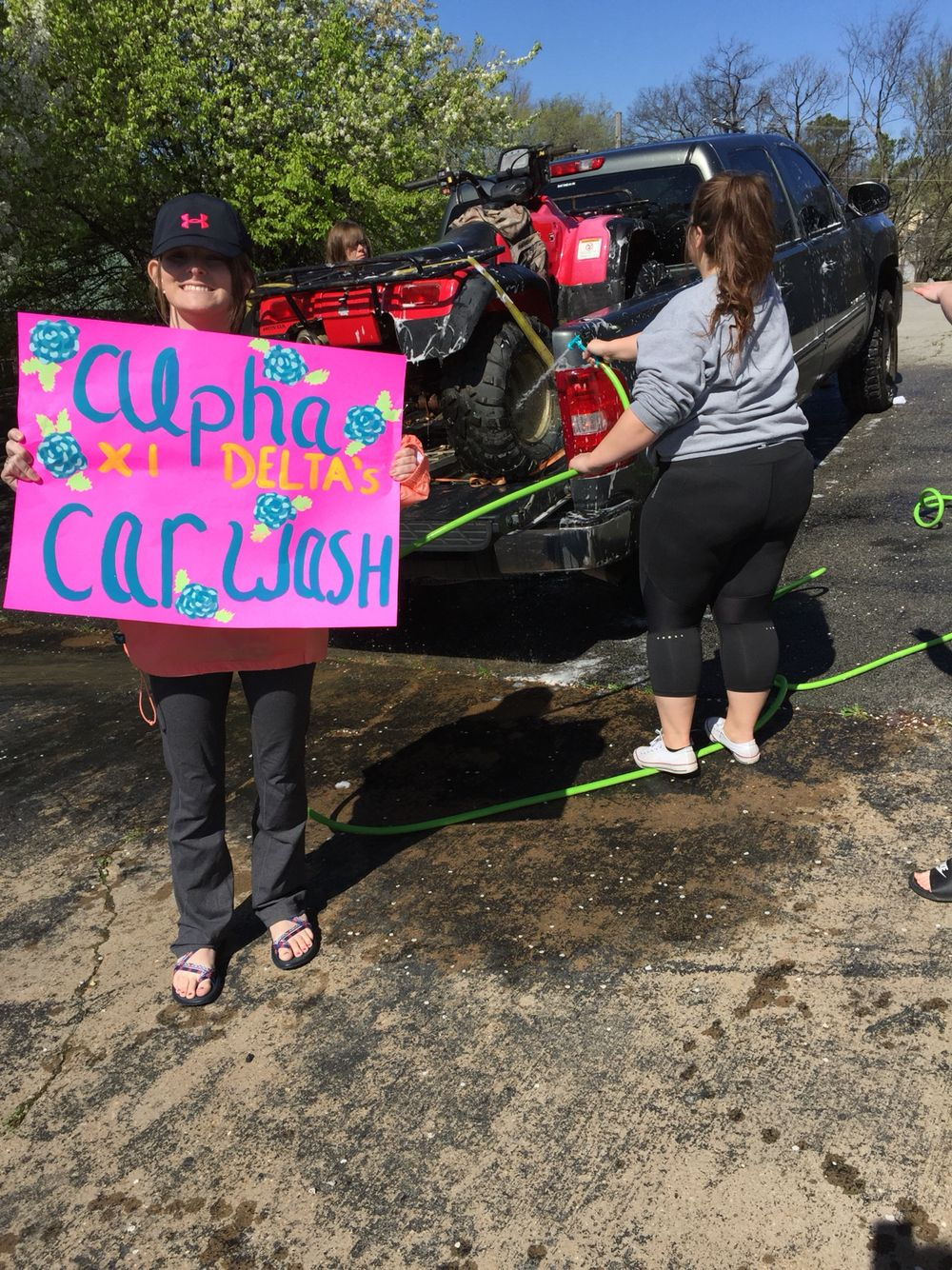 sorority fundraiser idea: car wash :) | alpha xi delta! | pinterest