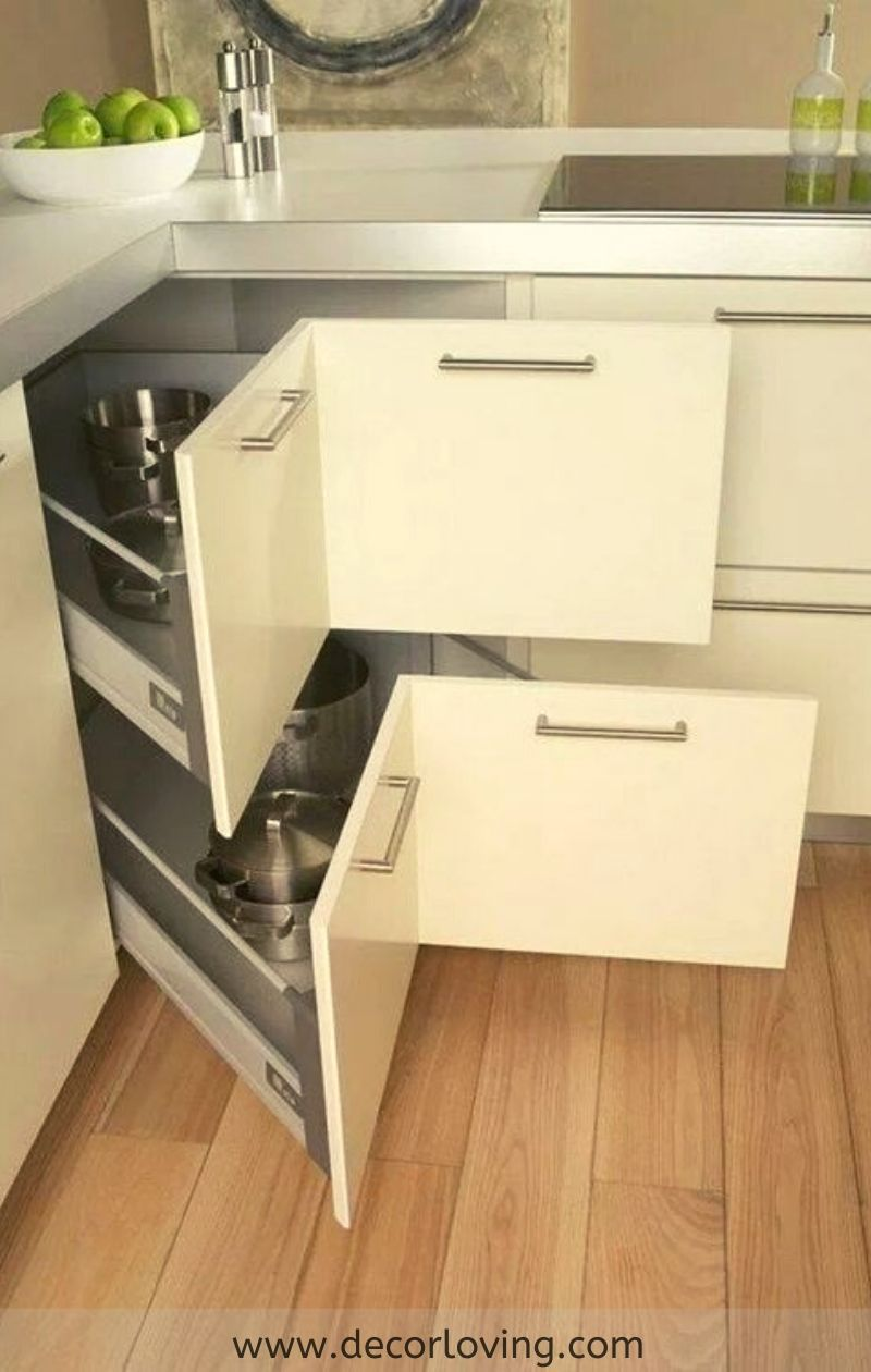 15 Best Kitchen Cabinet Storage And Kitchen Organization Ideas For Diy Home Decor Kitchen Furniture Design Kitchen Remodel Small Kitchen Room Design