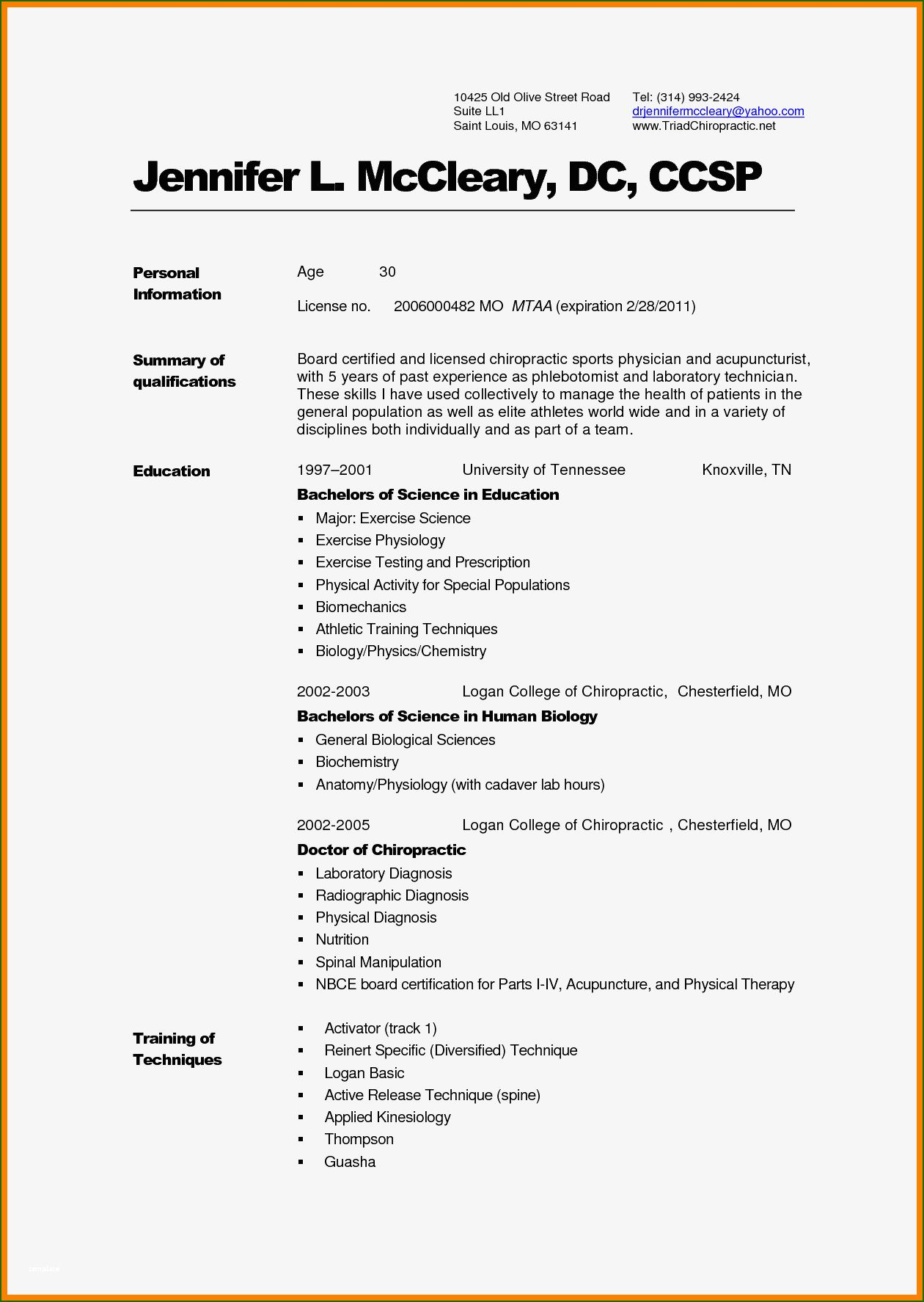 Admirable Physician Cv Template Word You'll Want to Copy