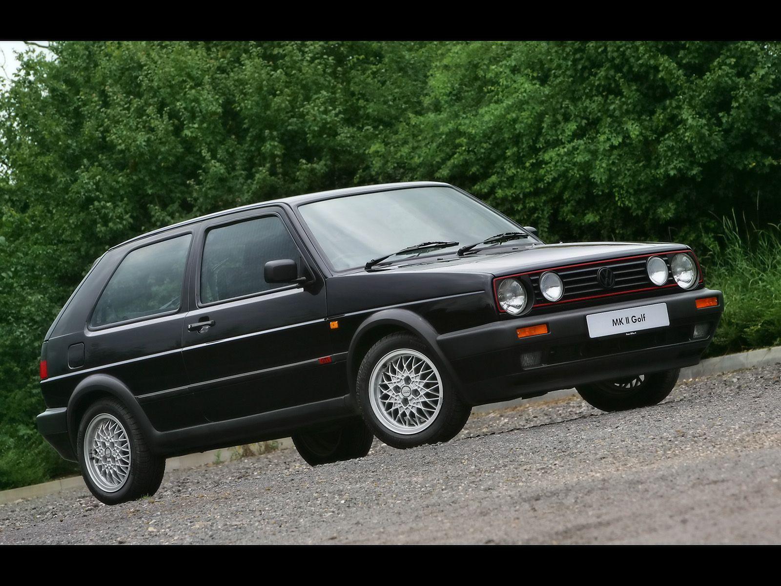 Volkswagen Golf GTI History 1984 1992 Mk II 1600x1200
