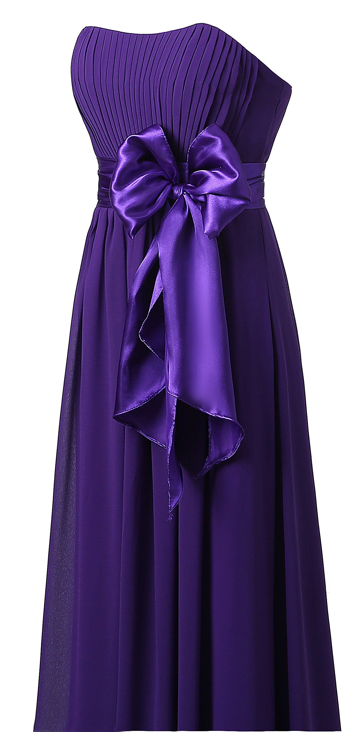 Ouman sweetheart bridesmaid chiffon prom dresses long evening gowns