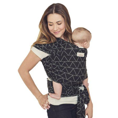 635b72be509 Seven Sling Baby Infant Wrap Carrier Multiple Ways 8-35 Lbs -Shadow ...