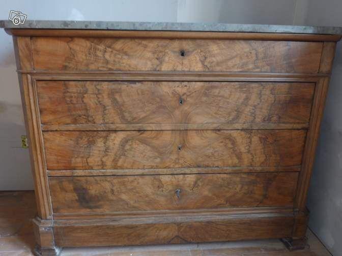 180 Commode Louis Philippe Plaquage Loupe De Noyer Ameublement Rhone Leboncoin Fr Room Interior Design Antique Dresser Wood