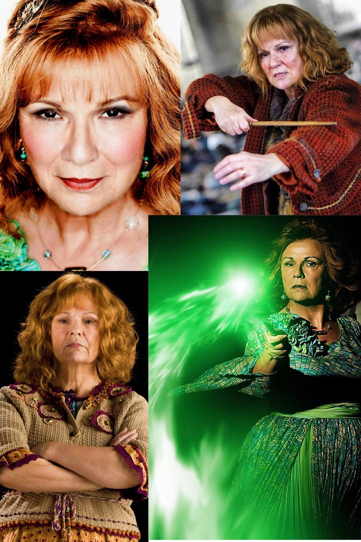 Molly Weasley Harry Potter Universal Harry Potter Facts Harry Potter Cast