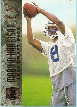 Marvin Harrison Football Card Marvin Harrison Rookie