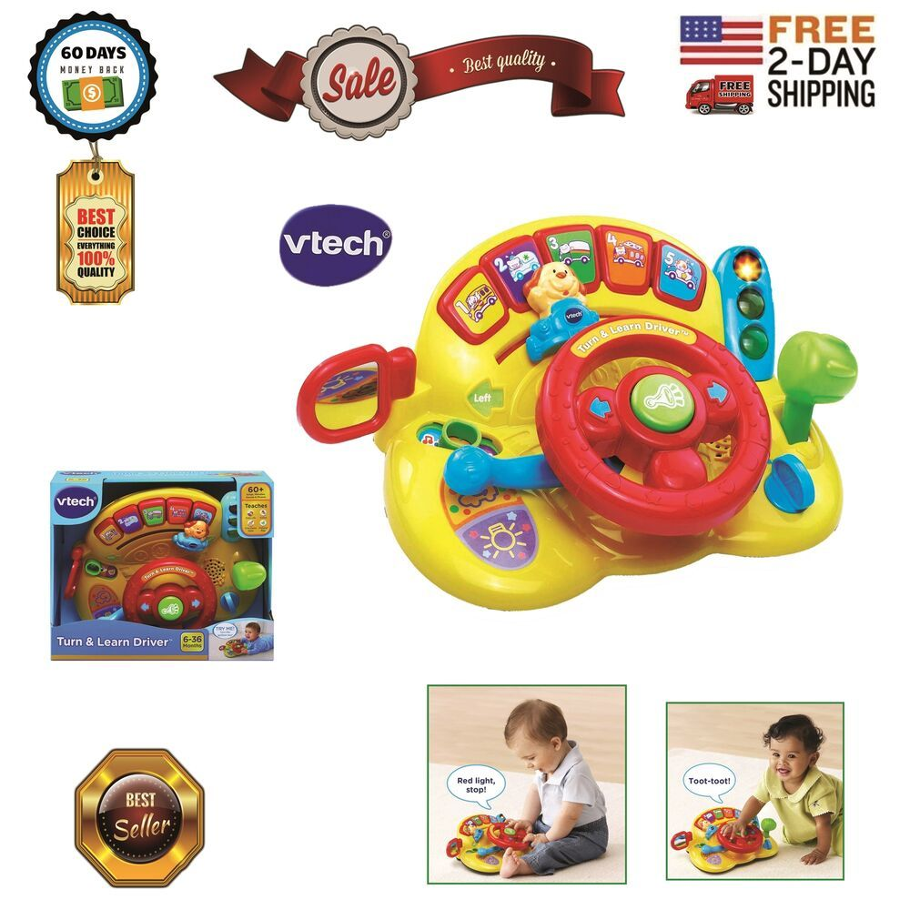 Toys For 1 Year Old Boy Girl Gifts 2 Educational Birthday Toddler Baby Driving Vtech Toys For 1 Year Old 1 Year Olds Girl Gifts