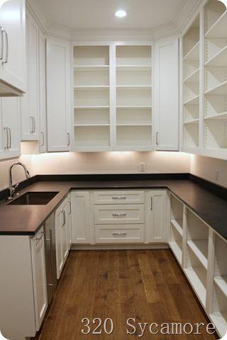 Pantry With Sink Pantry Remodel Kitchen Pantry Design Pantry Design
