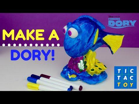 Finding Dory Design A Vinyl Color A Dory Toy Figure From New Disney Pixar Movie Disney Pixar Movies Pixar Movies Origami Design