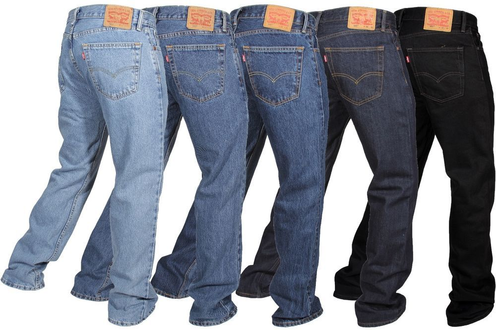 11b38550947 Levi's Men's 505 Original Fit Jeans Straight Leg Zip Fly 100% Cotton ...