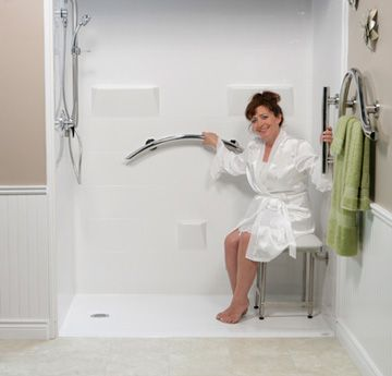 Freedom Showers Small Bathroom In 2019 Walk In Shower
