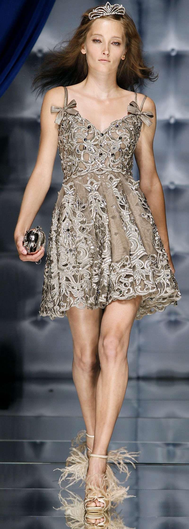 Zuhair Murad Haute Couture Autumn/Fall 2010 - Blair Waldorf Dress ...