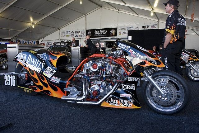 Brett Stevens Jack Daniel S Nitro Harley Awesome Machine