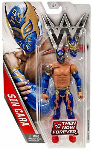 WWE MATTEL ELITE SERIES WWE TAG TEAM BELTS SIN CARA A NEW DAY WRESTLING FIGURES
