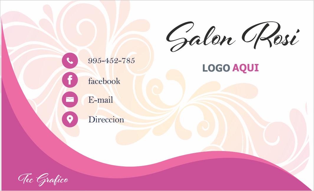 tarjetas para salon de belleza   Salon de belleza, Salones ...