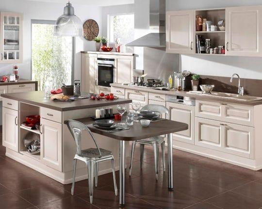 La cuisine Lapeyre en 13 modèles | Ilots central cuisine ...