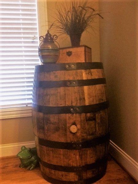 bourbon barrel for sale heaven hill stamp on top of barrel empty rh pinterest com