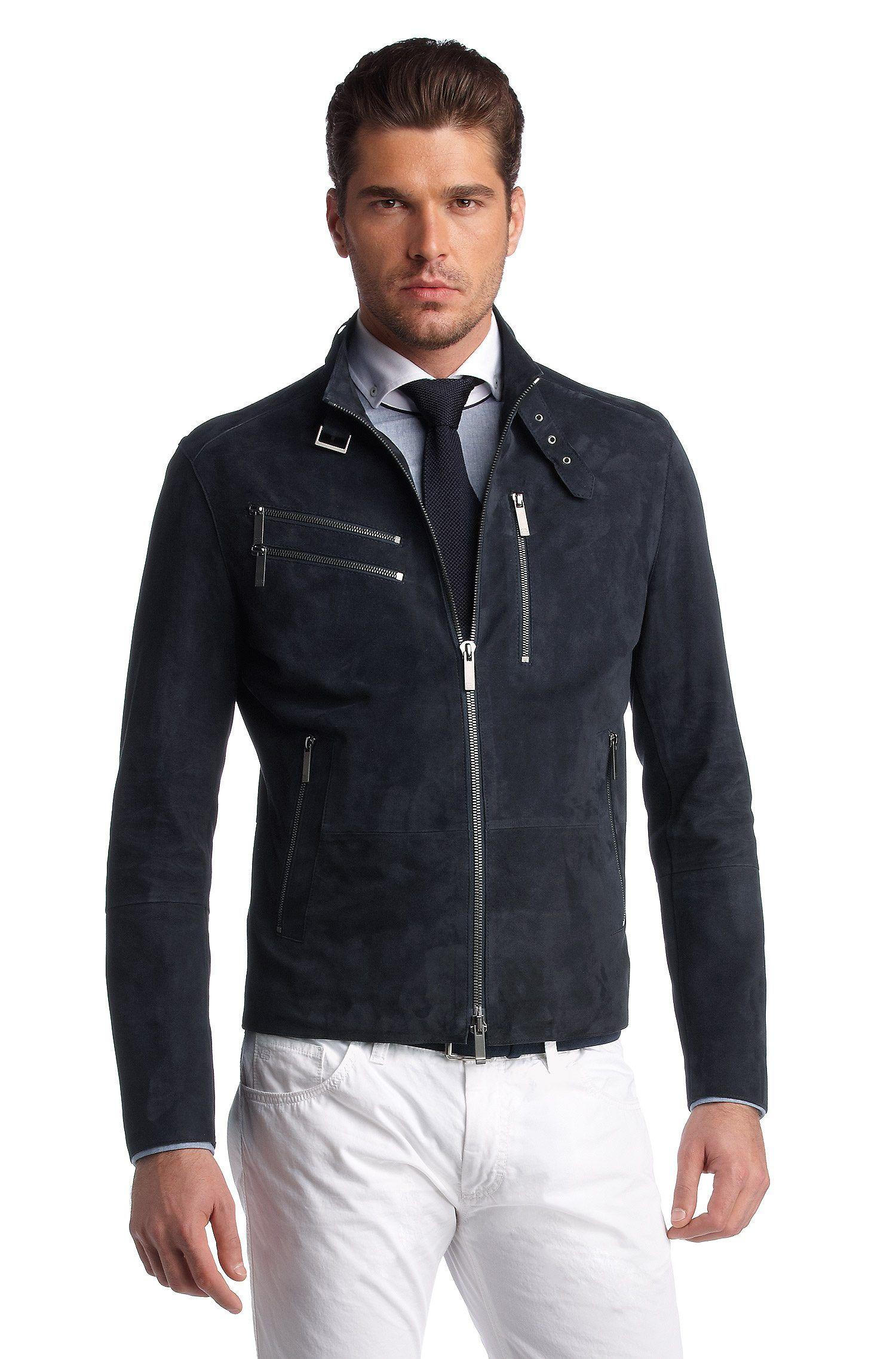 Hugo Boss Leather Jacket Куртка, Мужская куртка, Модели