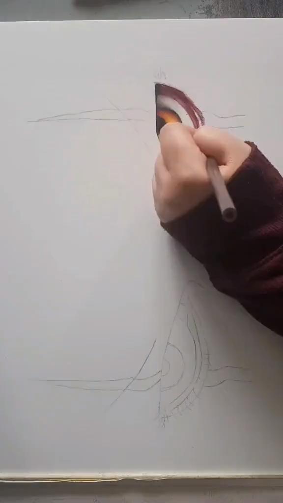 eye sketch speed drawing : #speeddrawing #fastdrawing #sketch #speed #drawing