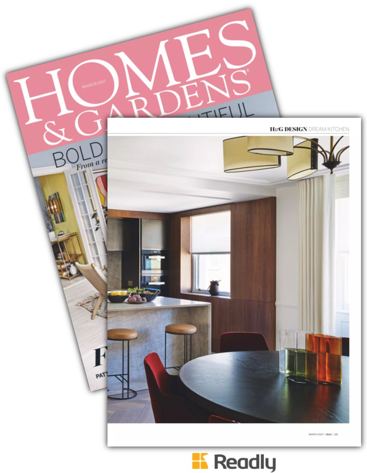 Suggestion about Homes and Gardens Magazine - UK March ...