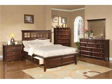 Shop For Winners Only Del Mar Chocolate Storage Bed Bdc1001cks