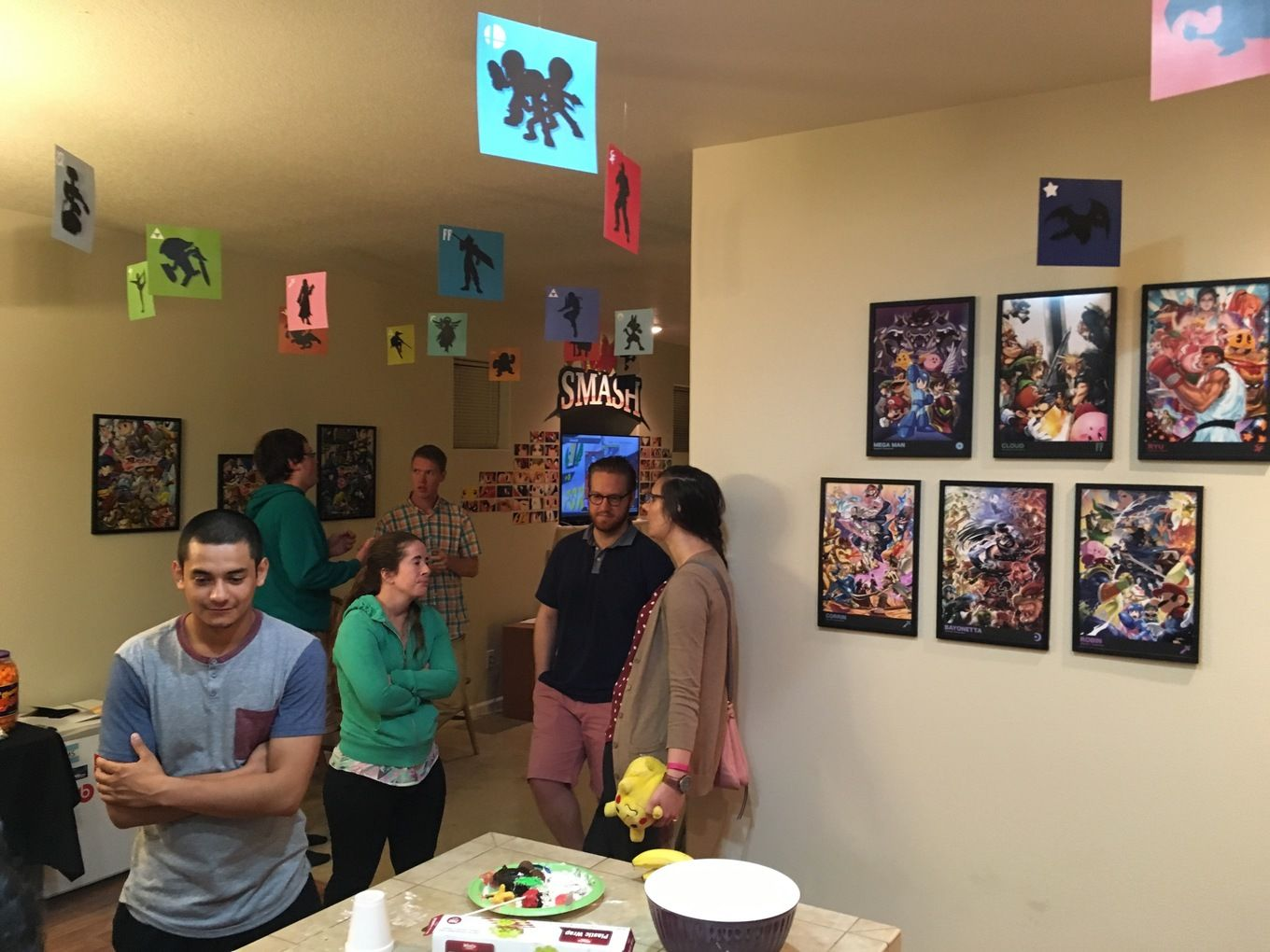 Super Smash Bros Party Decorations