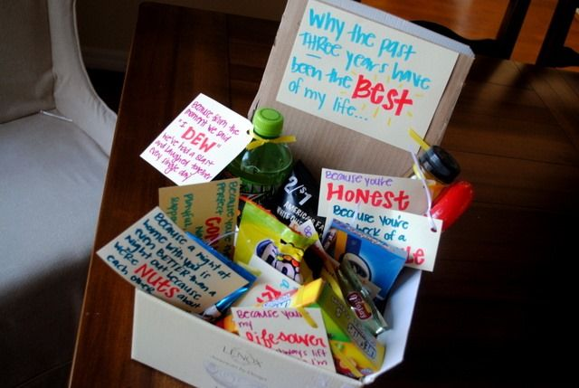3yearanniversarygift Jpg 640 429 Pixels Last Minute Birthday Gifts Anniversary Gift Ideas For Him Boyfriend Year Anniversary Gifts