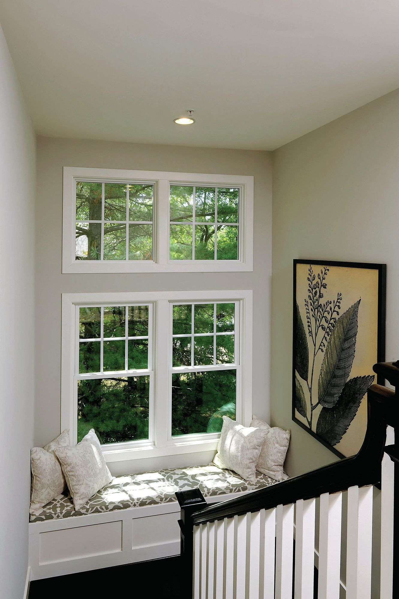 Window nook decorating ideas  design details that clinch the sale  stairways reading nooks and