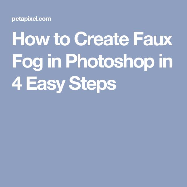 fog brush photoshop