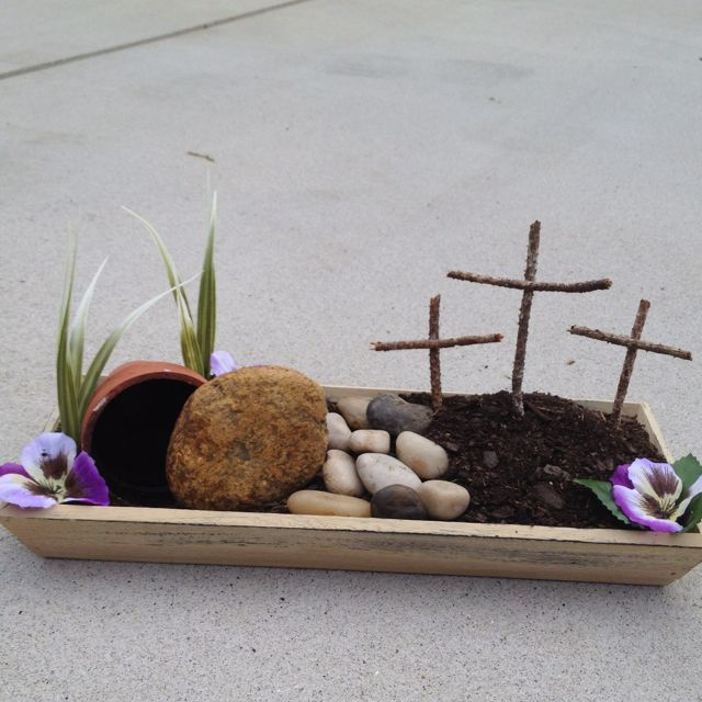 Attractive Easter Garden Craft Ideas Part - 9: Resurrection Garden, I Really Want To Create One Of These This Year.