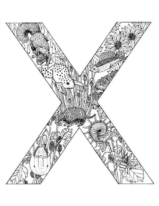 Alphabet Animal Coloring Pages X Alphabet Malvorlagen Malvorlagen Tiere Alphabet Buchstaben