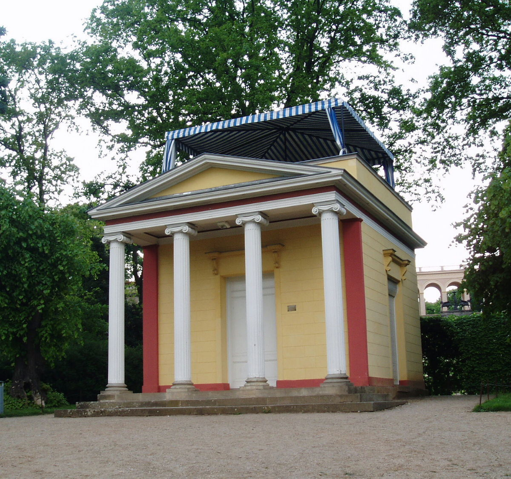 Karl Friedrich Schinkel Pomona Temple Pfingstberg Potsdam Alemania 1800 Potsdam Kleiner Pavillon Garten Berlin