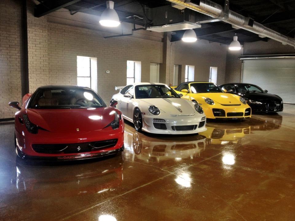 Ferrari Porsche Audi Garage Garage Style Dream Garage Cool Cars