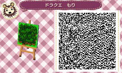Qrコード とびだせどうぶつの森 マイデザイン ドラクエ 地面 どうぶつの森amiiboカード とび森 マイデザイン どうぶつの森マイデザイン