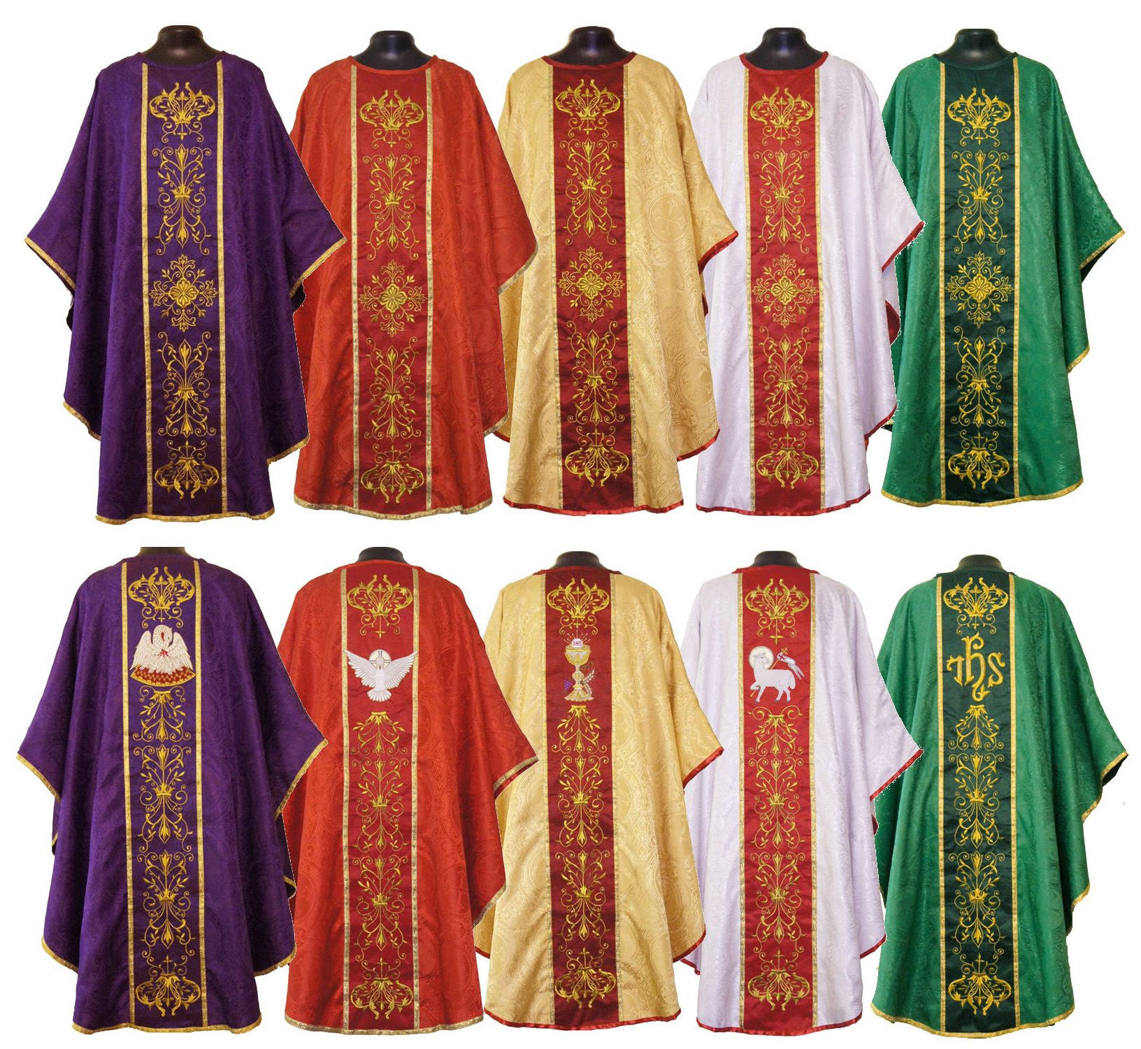 catholic vestments colors - Google Search | Nunsense 2 | Pinterest ...
