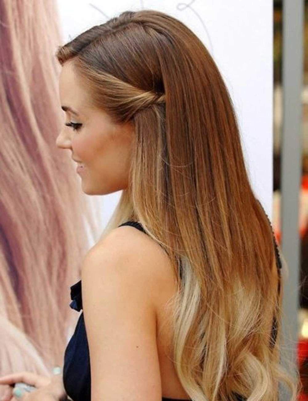 Préférence Coiffure cheveux lisse attache – Votre nouveau blog élégant à la  IM64