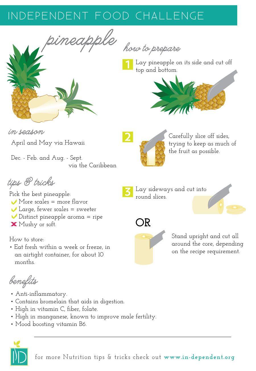 How To Prepare A Pineapple pics
