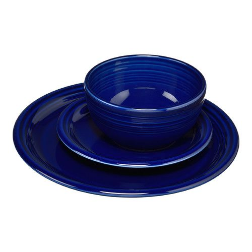 Found it at Wayfair - Bistro 3 Piece Dinnerware Set........love this,
