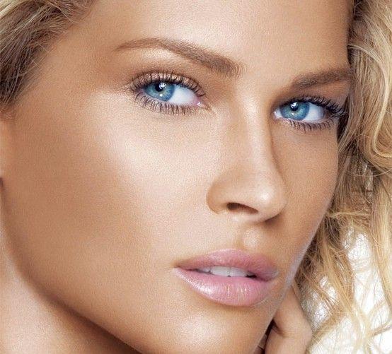 golden eye makeup for blue eyes   Wedding Makeup For Blue Eyes ...