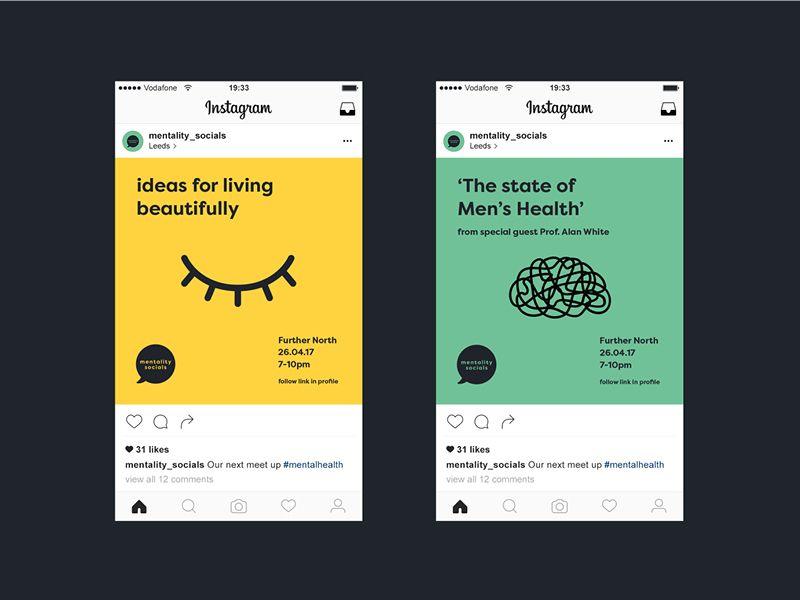 Mentality Socials Events Event Design Branding Agency Website Design Cv Design Creative