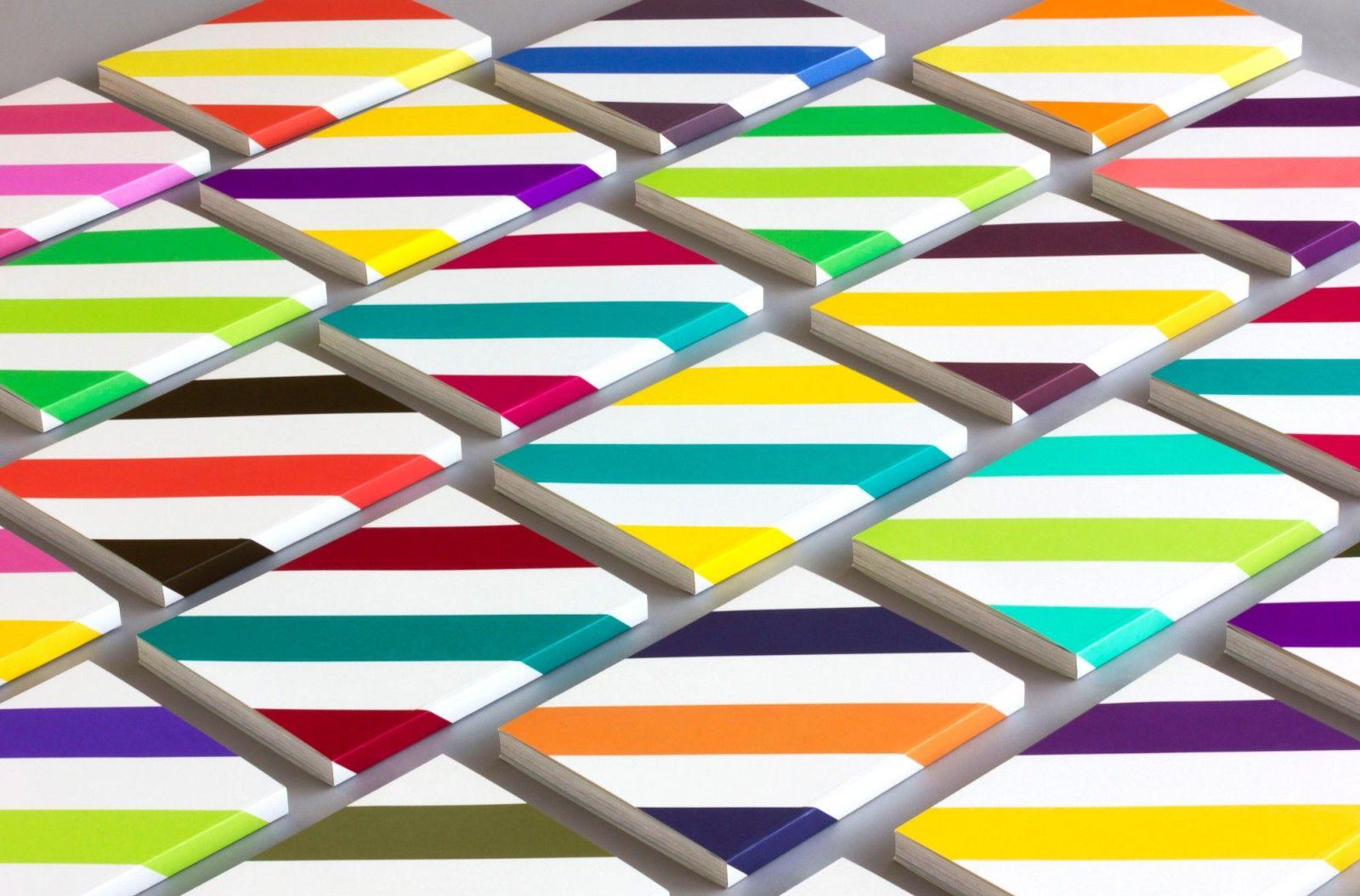 Stripes Rhythm Direction Print Designed By Stockholm