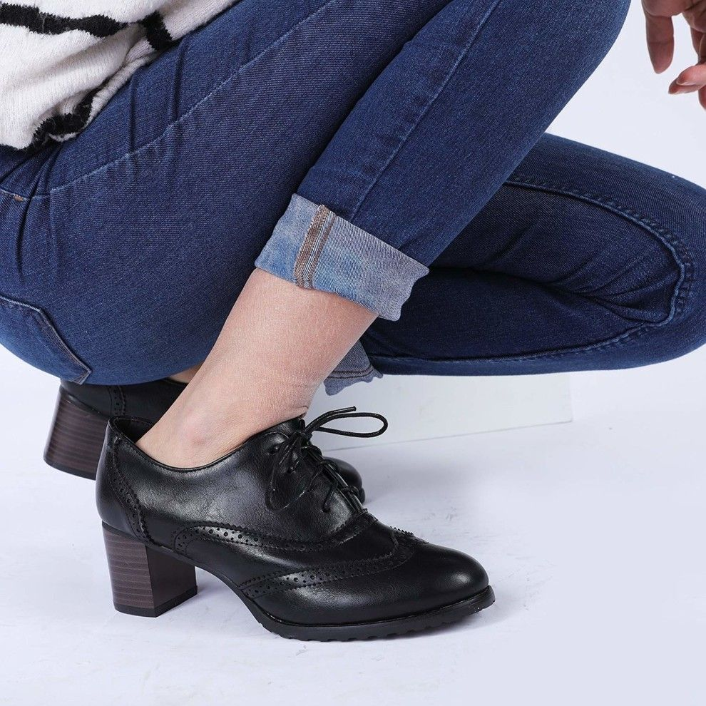 2019 year for lady- How to oxford wear high heels
