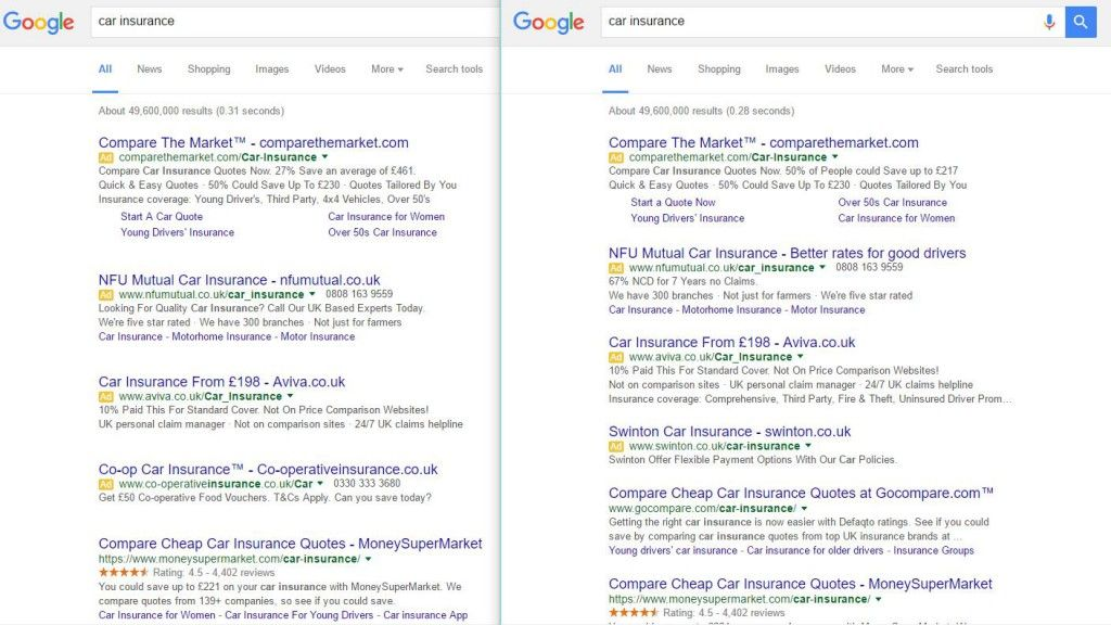 Google Testing Extra White Space In Search Results With Images