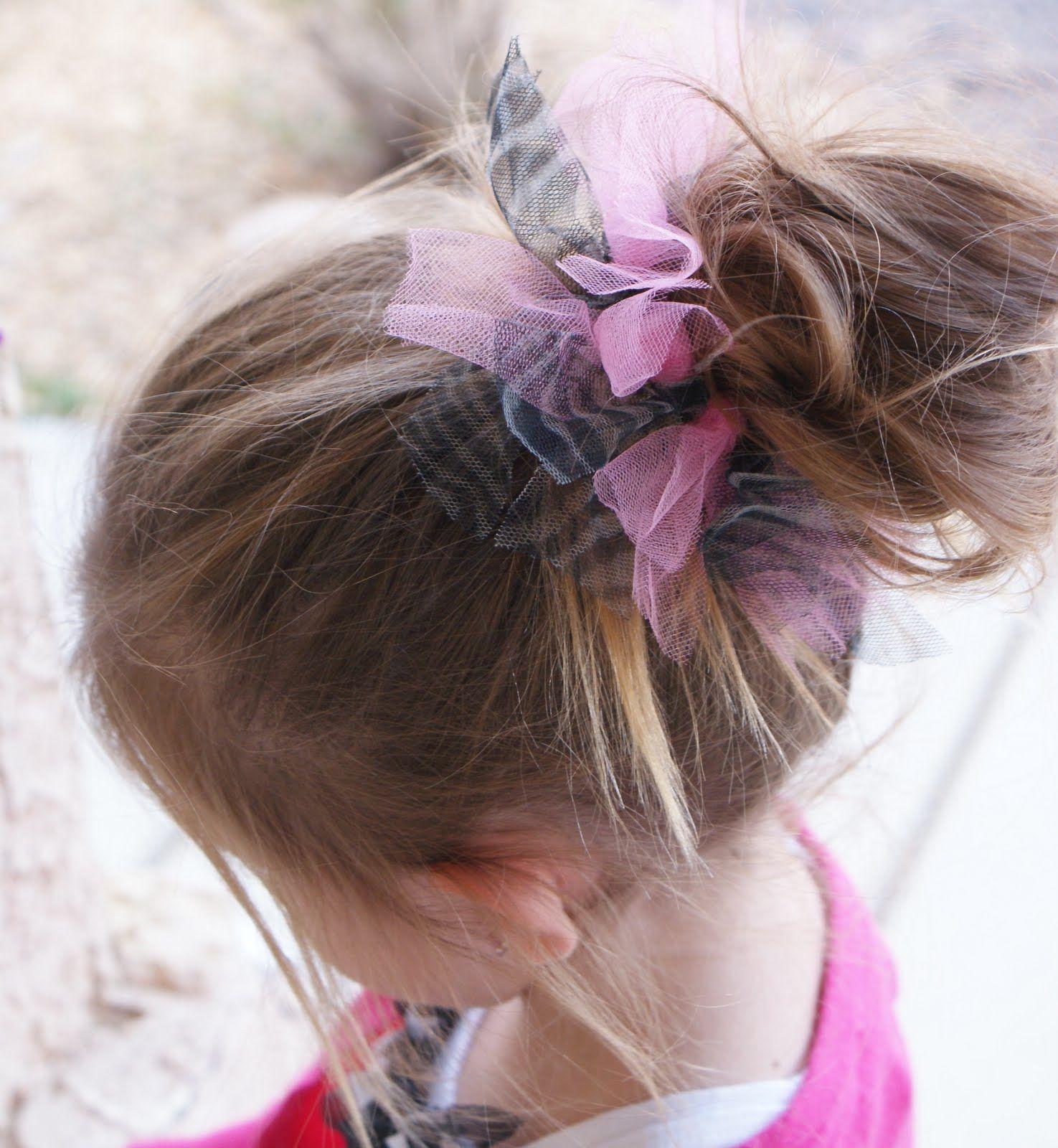 Tutu Inspired Hair Tie  df08e84de19