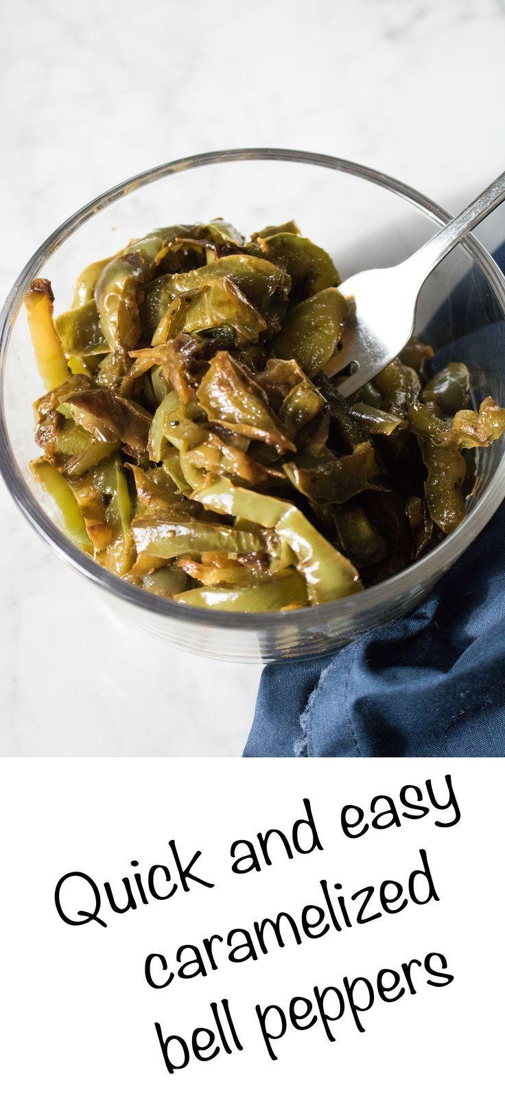 Caramelized green bell peppers #bellpepperrecipes